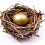 golden egg in nest shutterstock_2497390